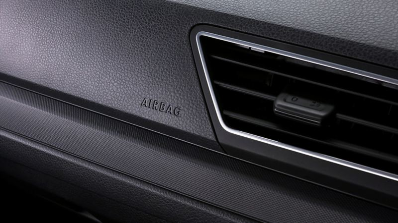 Las bolsas de aire frontales son una medida de seguridad de Gol de Volkswagen