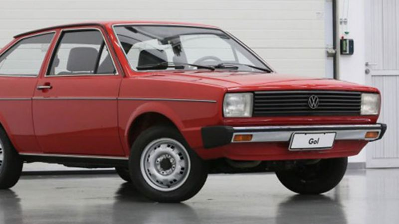 Gol G1, primera generación de Volkswagen Gol