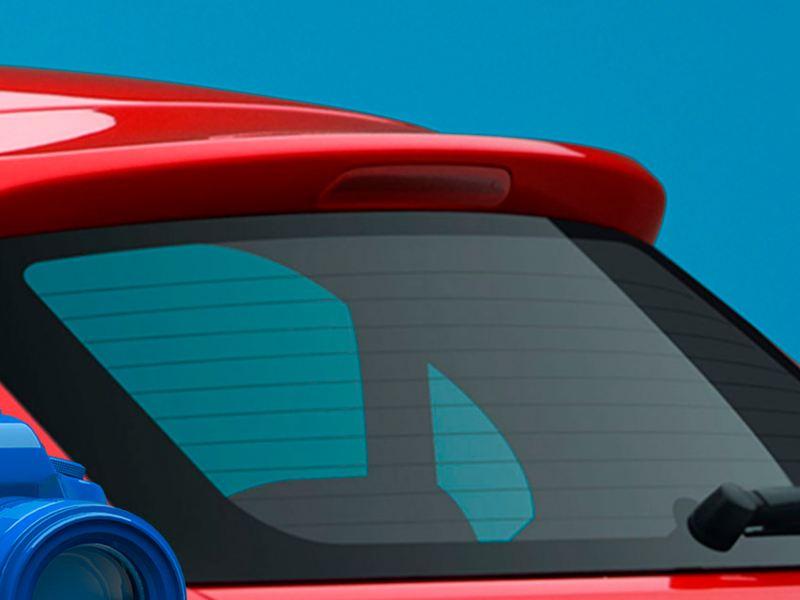 Tercera luz de freno de Nuevo Gol de Volkswagen