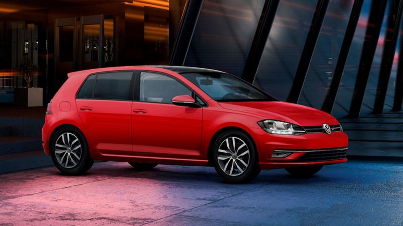 Golf auto deportivo de Volkswagen