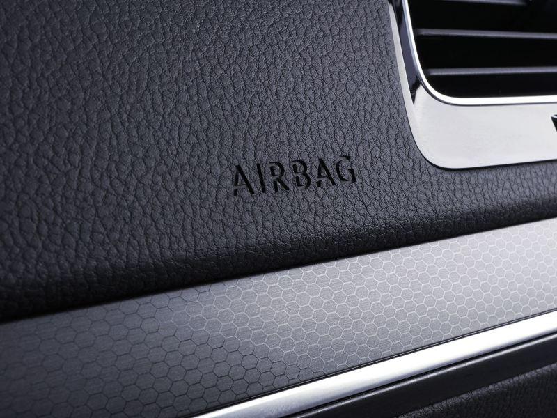 Una de las bolsas de aire presentes en Golf GTI 2020 de Volkswagen