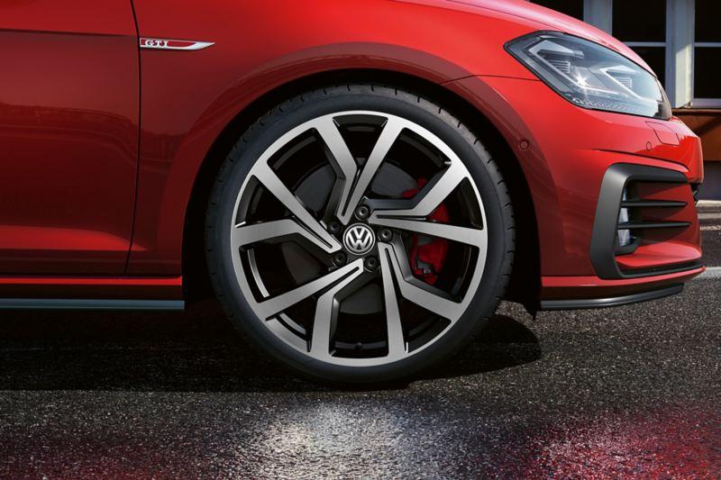 7.5 J x 19 inch Brescia alloy wheel, Volkswagen R