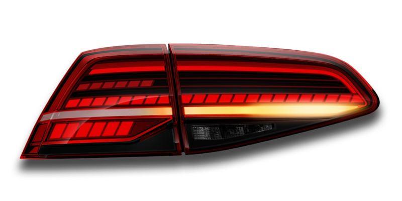 Calaveras de iluminación LED del nuevo auto deportivo Golf GTI 2020 de Volkswagen