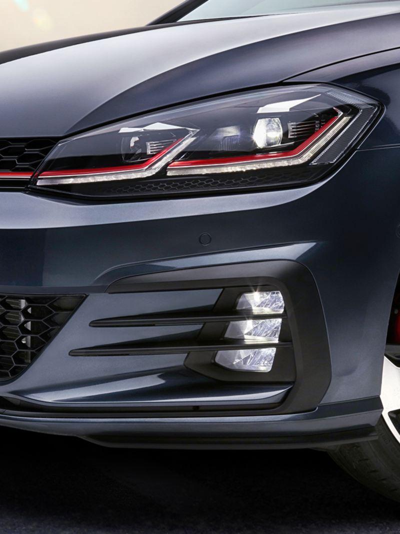 Nuevo Golf GTI 2020 de Volkswagen viene equipado con defensas deportivas
