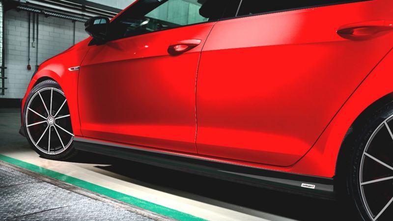 Estribos laterales de Golf GTI oettinger de Volkswagen