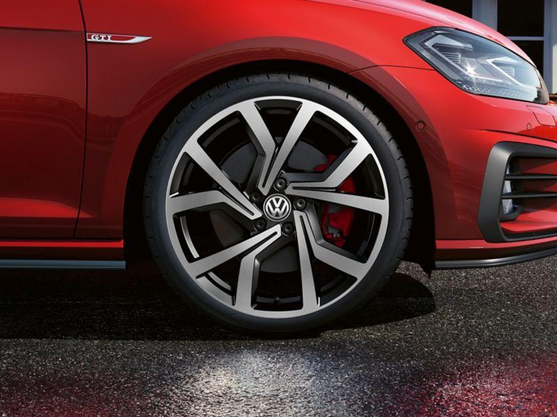 "7.5 J x 19 inch ""Brescia"" alloy wheel, Volkswagen R"