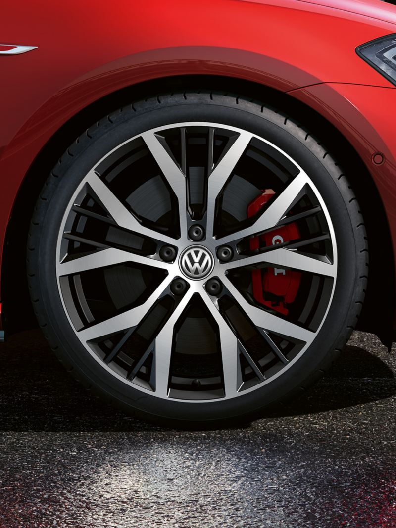 """7.5 J x 19 inch """"Santiago"""" wheel, Volkswagen R"""