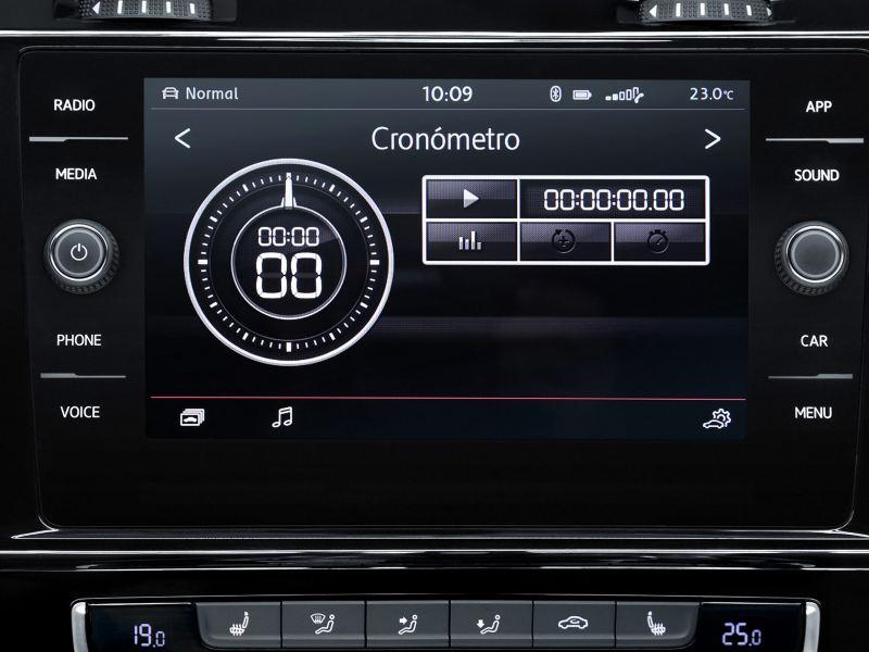 Selector de modo de conducción incluido en Golf GTI 2020 de Volkswagen