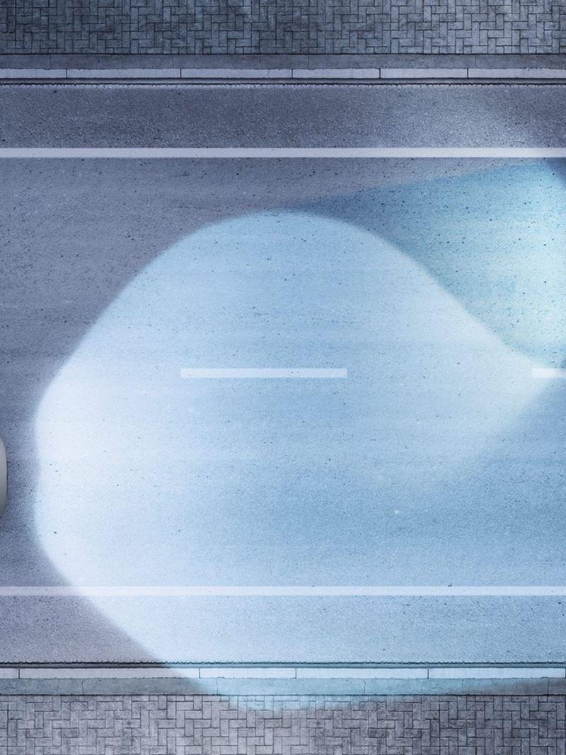 Sistema de iluminación Light Assist presente en Golf GTI 2020 de Volkswagen