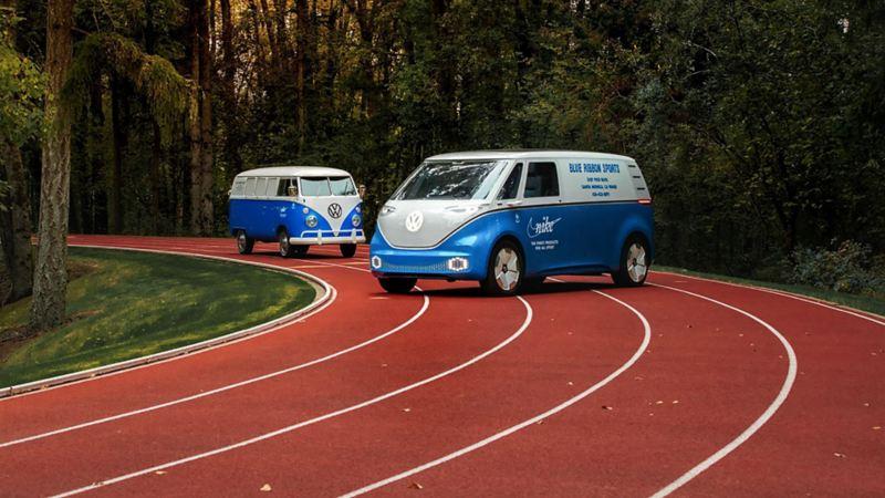 Volkswagen I.D Buzz Cargo på USA-turné om hållbarhet tillsammans med Nike