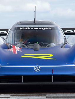 Volkswagen ID.R at the Nürburgring