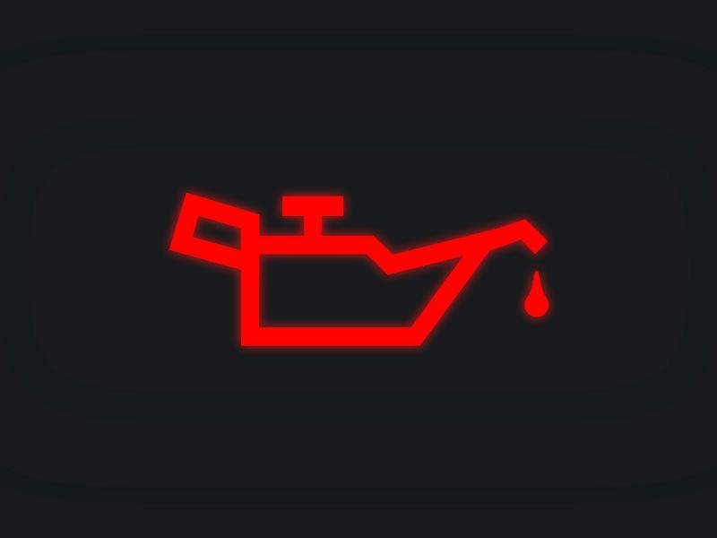 Significado del Indicador de aceite color rojo en tablero Volkswagen