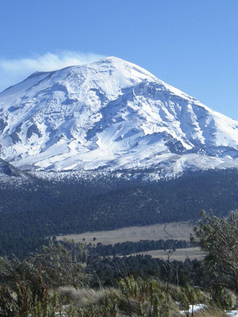 Parque Nacional Iztaccíhuatl, sitio donde se llevó a cabo el programa de conservación ambiental de VW