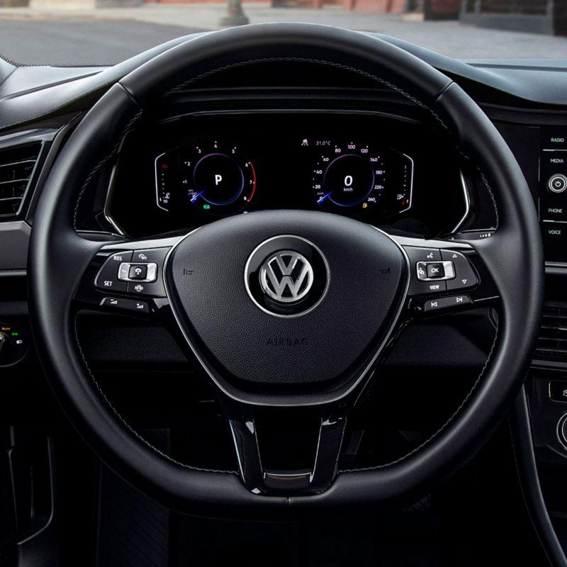 Jetta 2021 con Volkswagen Digital Cockpit y sistema de navegación