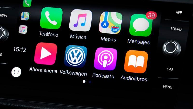 Sistema Volkswagen App-Connect  de Jetta de Volkswagen México