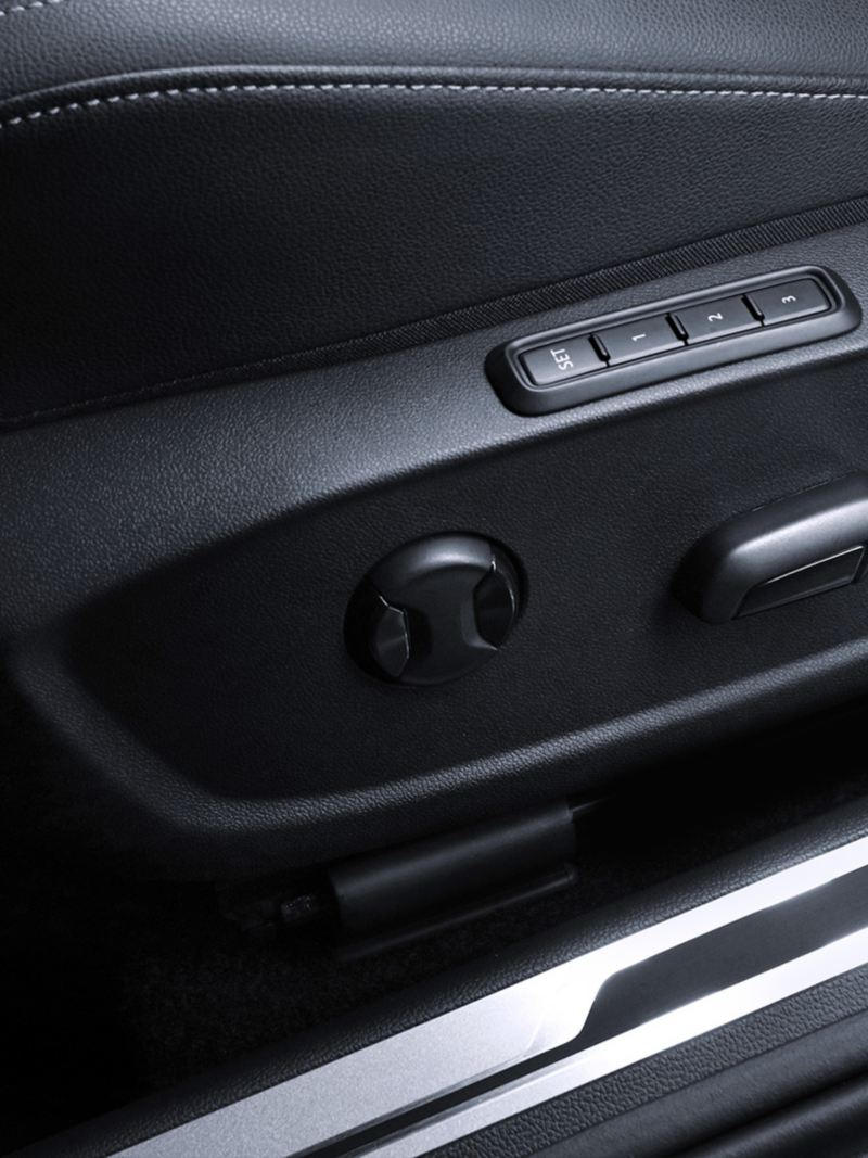 Asiento del conductor eléctrico con memoria de Jetta Volkswagen