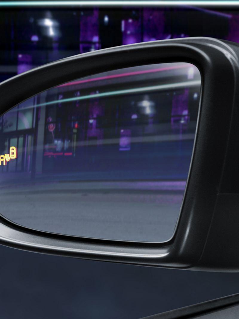 Sistema detector de punto ciego del diseño de Jetta de Volkswagen México