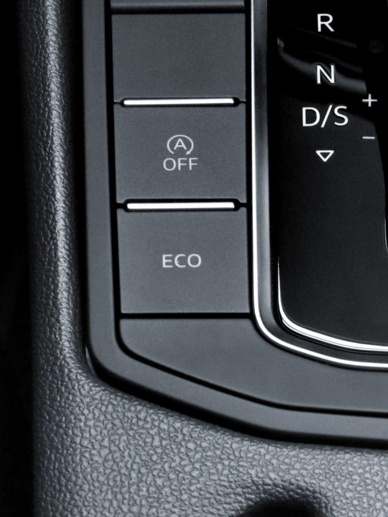 El sistema con alta tecnología de modo de manejo ECO de Jetta de Volkswagen