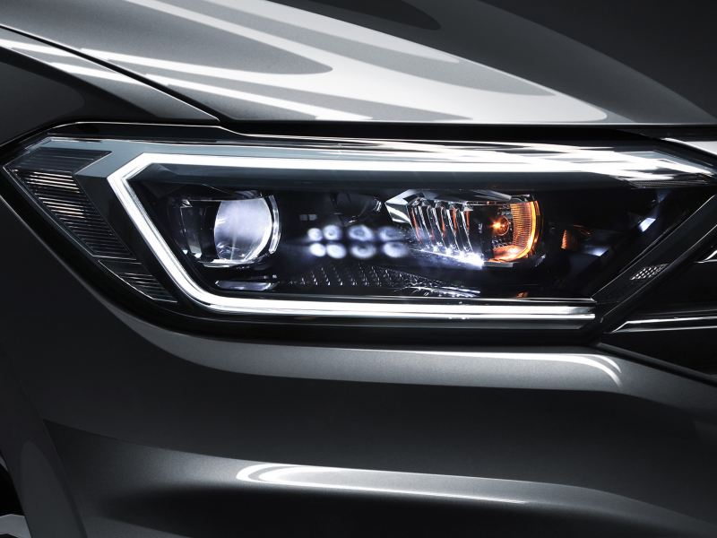 Los faros LED de Jetta de Volkswagen México que ayudan a tener una mejor visión