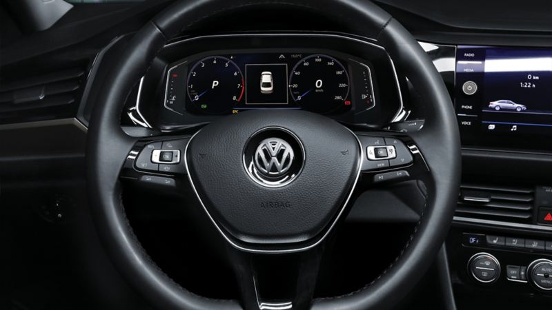 Volante multifunciones de Jetta de Volkswagen México