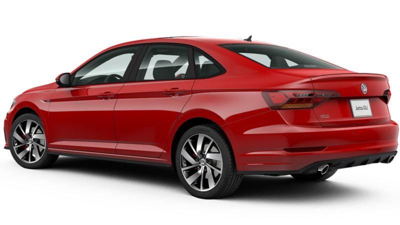 Auto Sedán Jetta de Volkswagen adquirido con Planes de Financiamiento VW