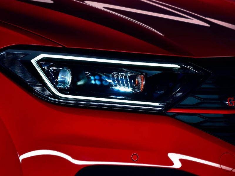 Faros LED presentes en el Jetta GLI 2021 de Volkswagen