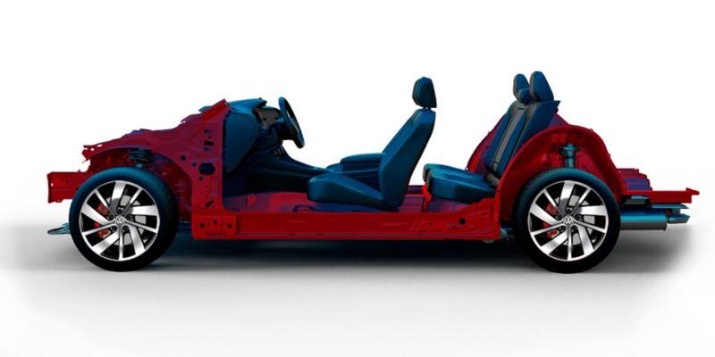 Plataforma MQB, sobre la cual se desarrolló el Jetta GLI 2020 de Volkswagen