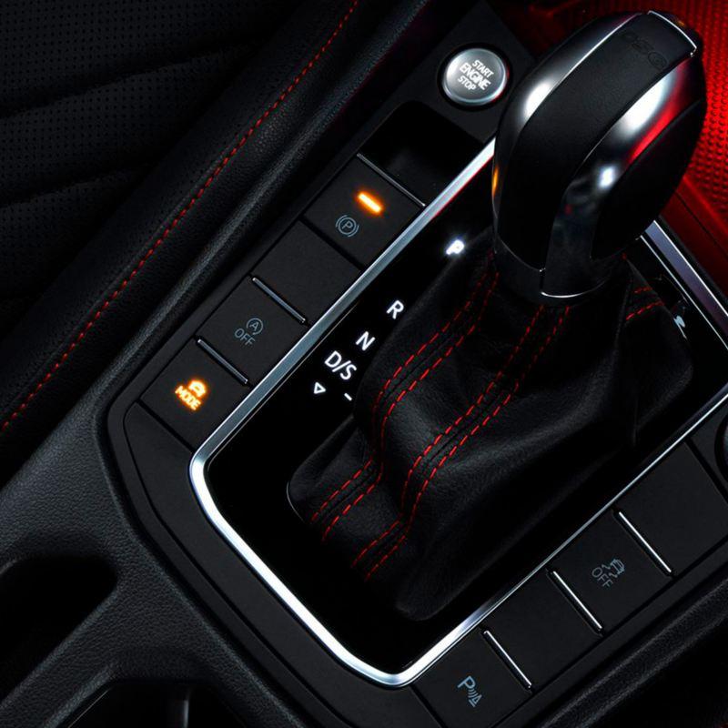 Palanca de cambios de la transmisión DSG del Jetta GLI 2021 de Volkswagen