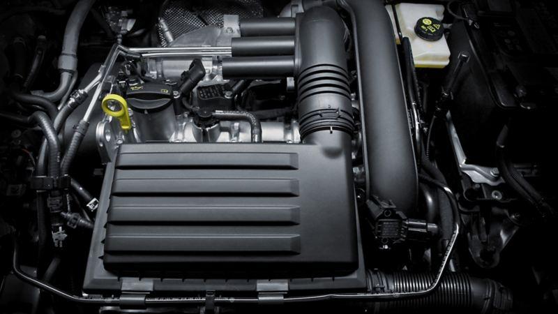 Motor de Jetta 2021 con capacidad de 1.4 L TSI y 150 Hp
