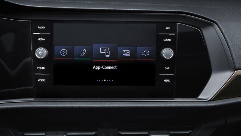 La pantalla de táctil de 8 pulgadas de última tecnología de Volkswagen Jetta