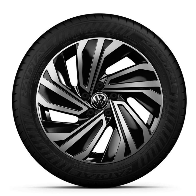 El diseño de los riñes de aluminio de 19 pulgadas de Jetta 2020 de Volkswagen