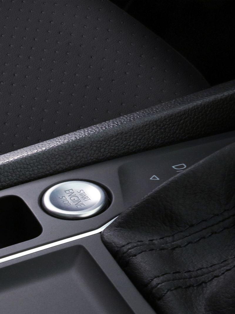 Sistema Keyless Access y botón de ignición del SUV Teramont 2019 de Volkswagen