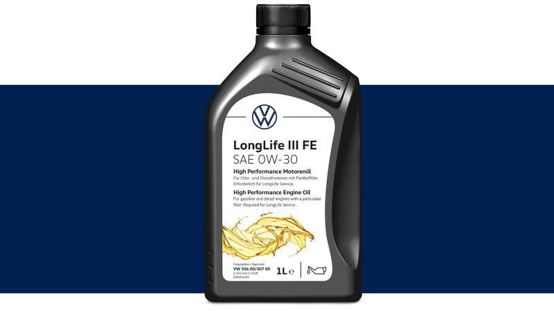 Oryginalny olej silnikowy o wysokich parametrach Volkswagen LongLife III.