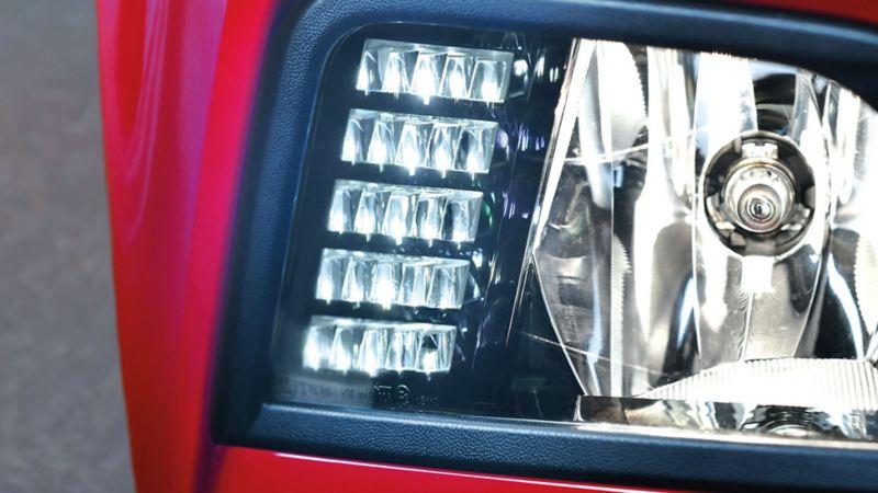 Luces diurnas LED de Virtus de Volkswagen