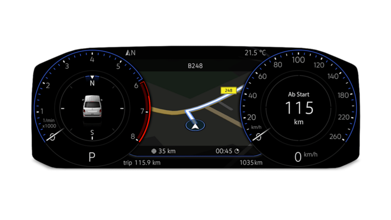 Volkswagen Véhicules Utilitaires Multivan 6.1 digital cockpit