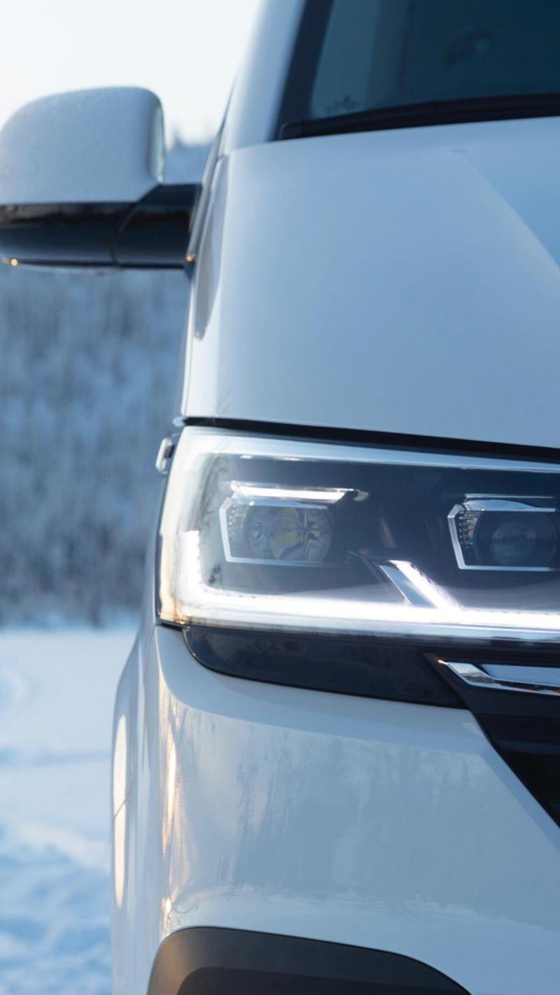 VW Multivan 6.1 i närbild