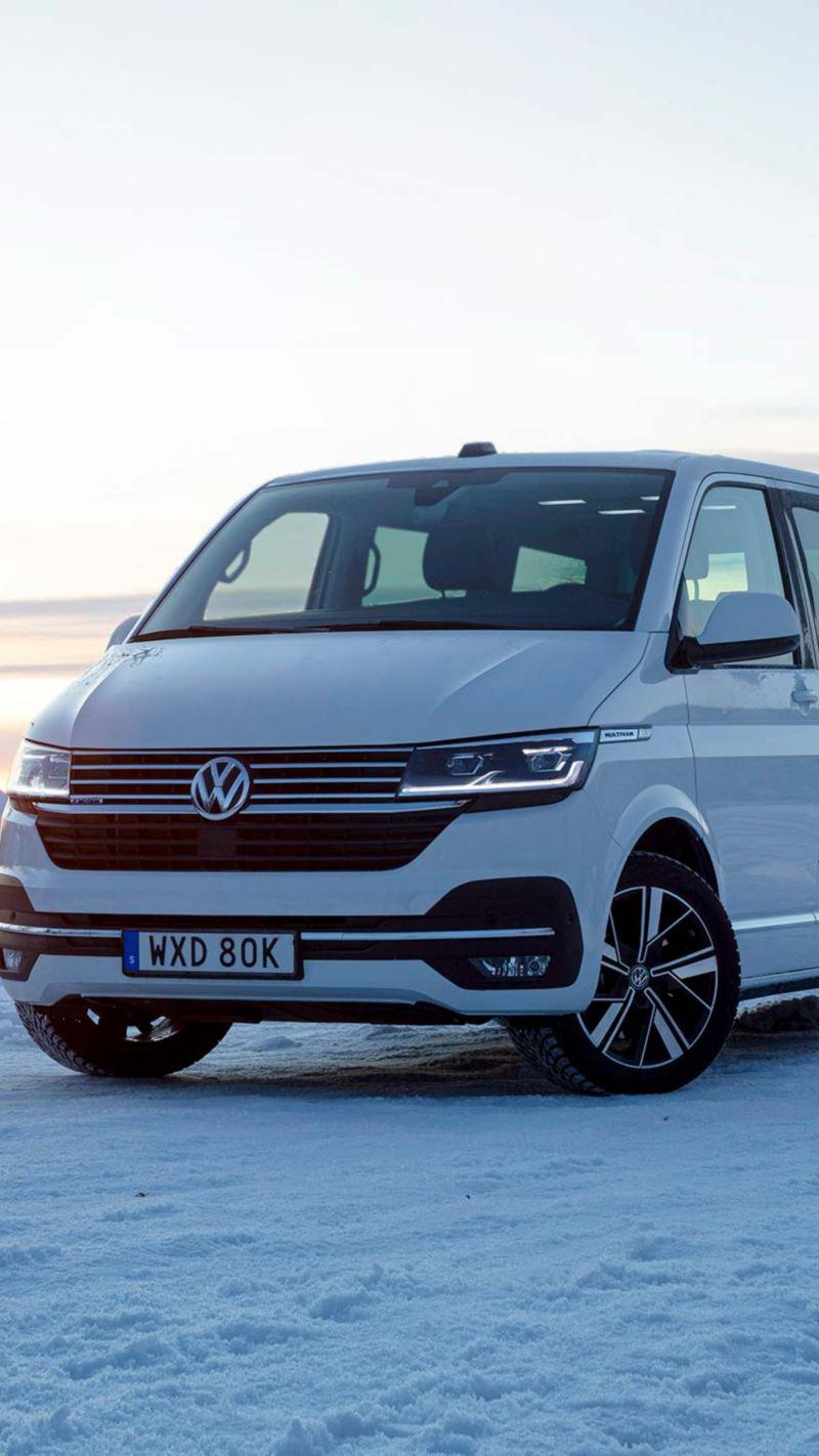 VW Multivan 6.1 i fjälllandskap