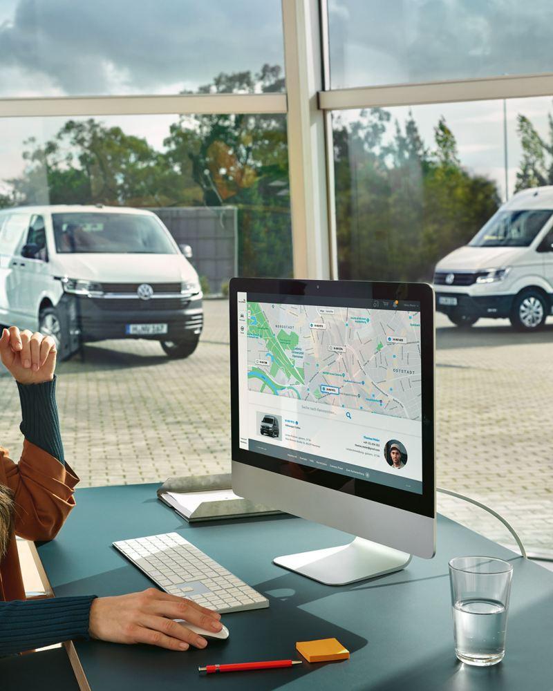 VW Nutzfahrzeuge Flottenkunden