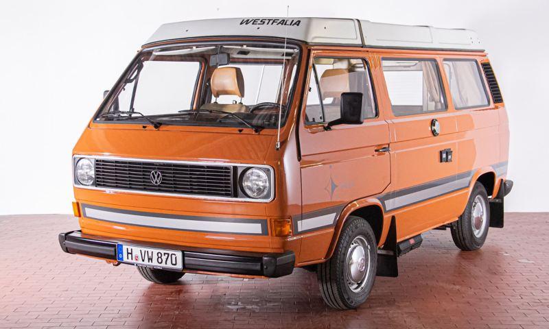 Werner - 1981 T3 Campingwagen Joker von vorne.