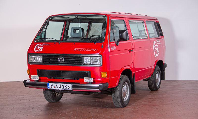 Simon - 1992 T3 Caravelle GL syncro schräg von vorne.