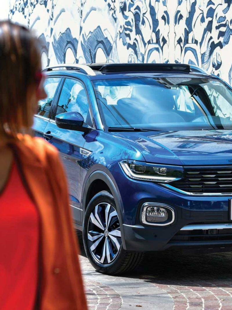 Parrilla cromada T-Cross Volkswagen
