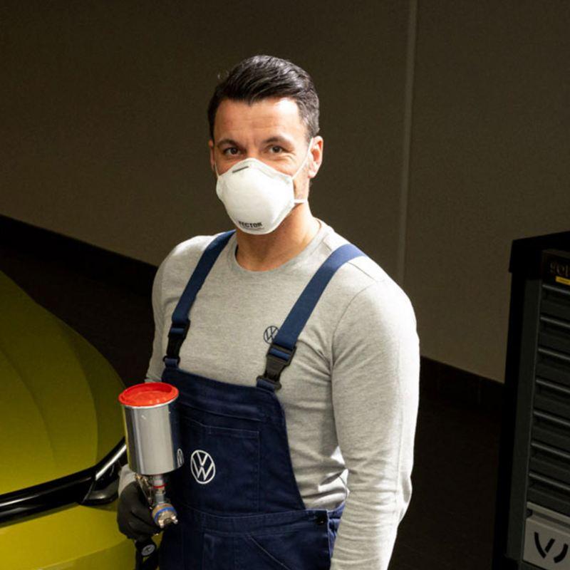 El mejor servicio de mantenimiento para cuidado de carrocería y pintura de autos de Volkswagen