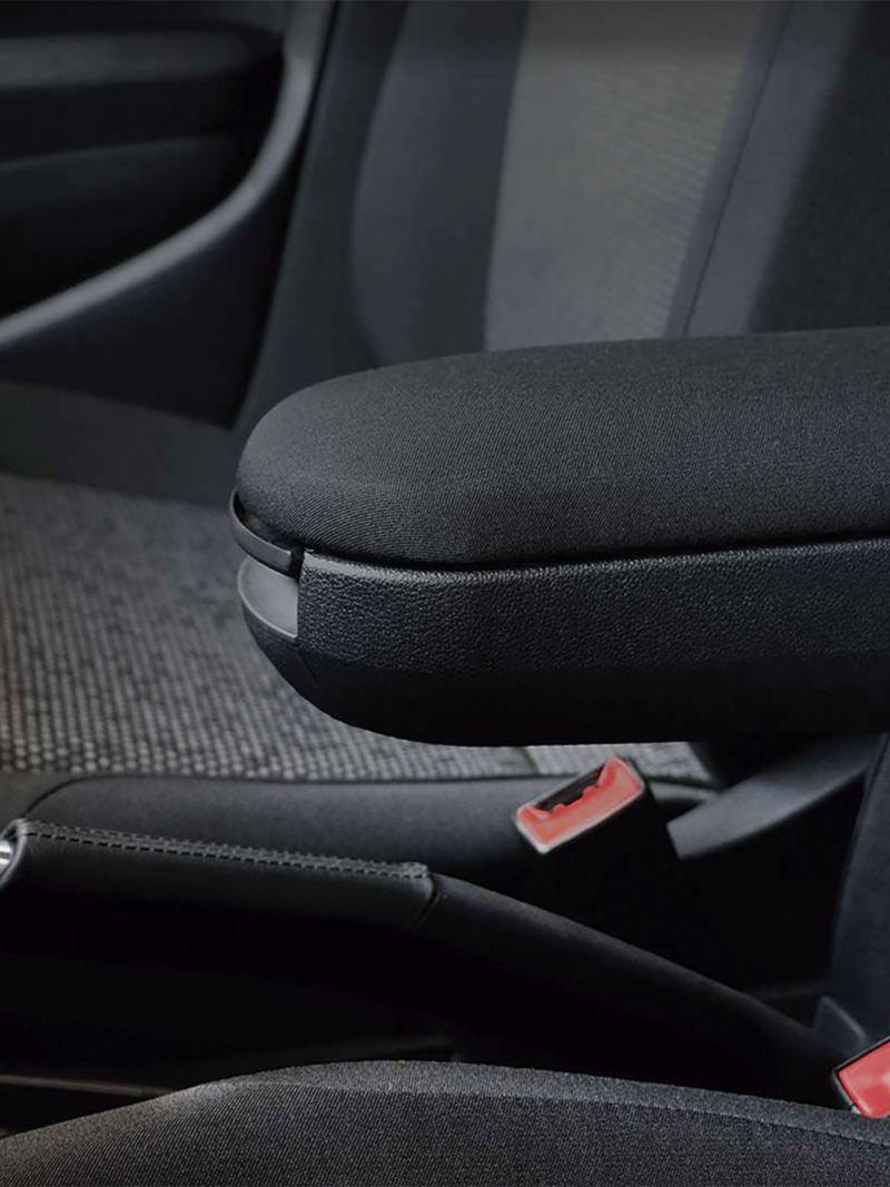 Descansabrazos central delantero de Polo 2021, edición especial VW México