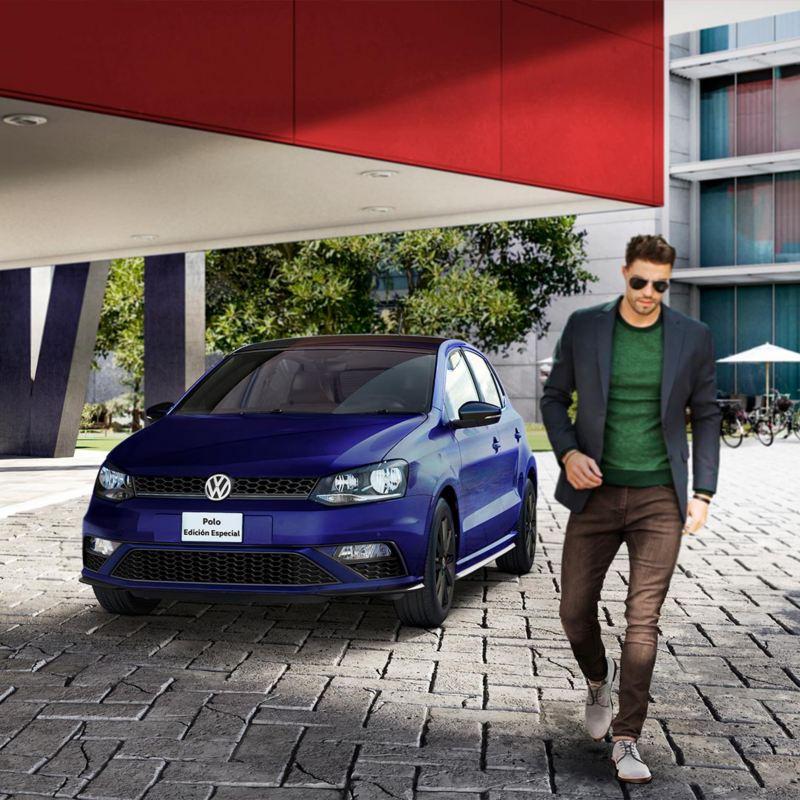 Polo 2021, edición especial del carro compacto Volkswagen con diseño deportivo elegante y renovado.