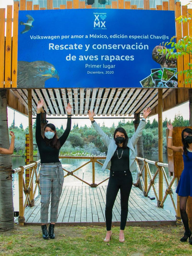 """Proyecto Ecológico ganador """"Estrategias biológicas y sociales para el rescate y conservación de aves rapaces""""."""