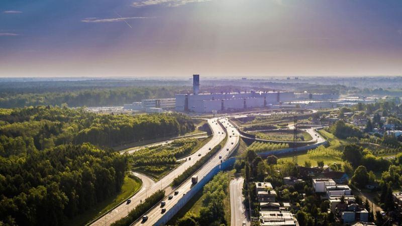 Fabryka Volkswagen w Poznaniu.