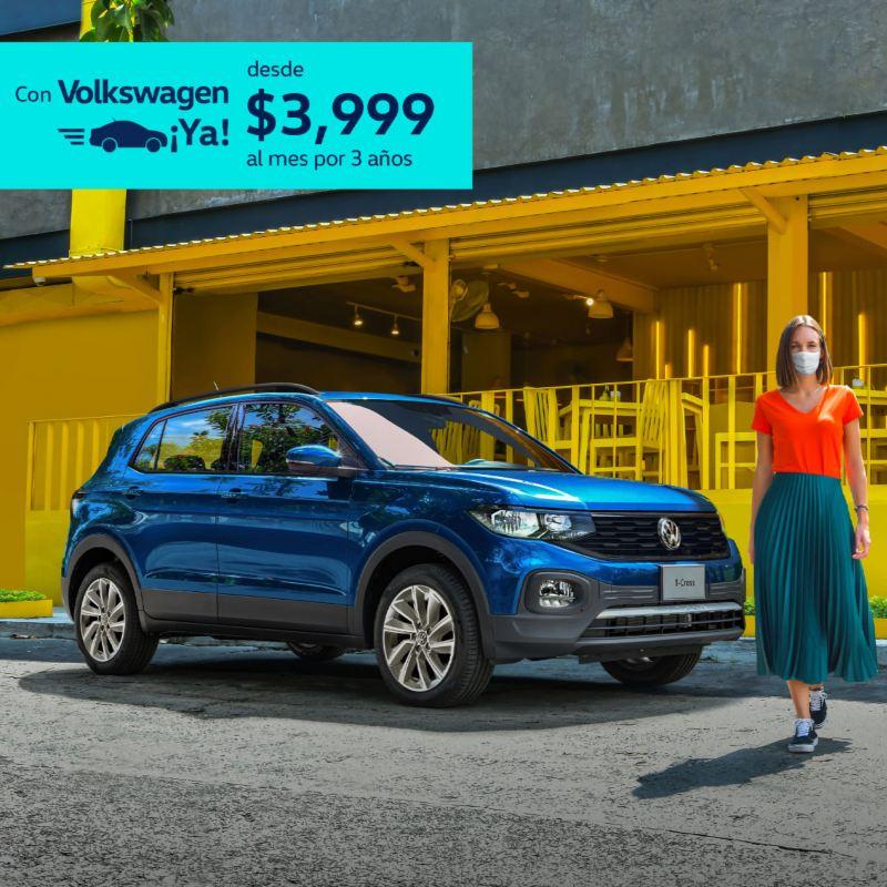 T-Cross 2021 Volkswagen - Promoción de diciembre