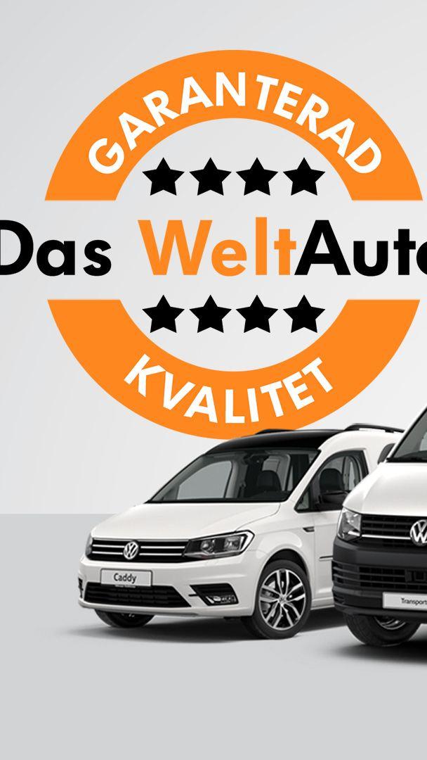 Begagnade och kvalitetskontrollerade Volkswagen transportbilar med garanti hos Das WeltAuto