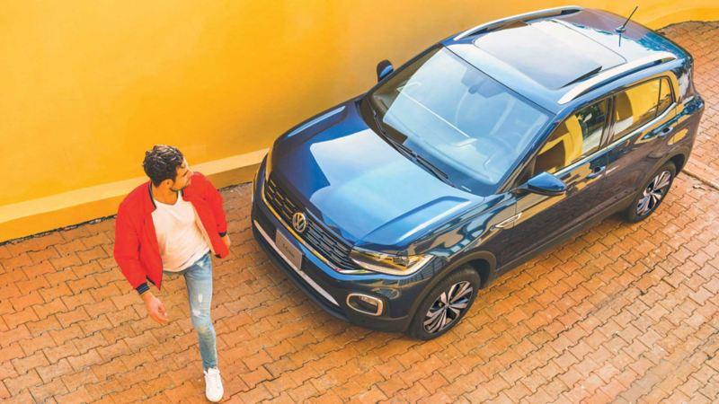 Rieles en toldo cromados en T-Cross de Volkswagen