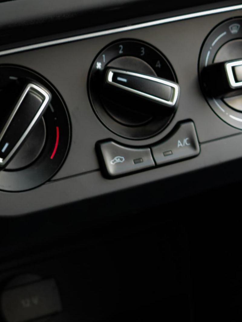 Aire acondicionado para hacer agradable los viajes en la Pick Up Saveiro 2021 de Volkswagen México